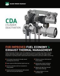 Cylinder Deactivation (CDA) Sellsheet cover image