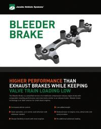 Bleeder Brake Sellsheet cover image