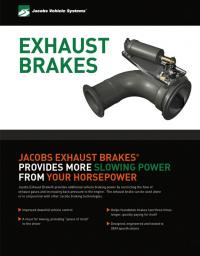 Exhaust Brake Sellsheet cover image