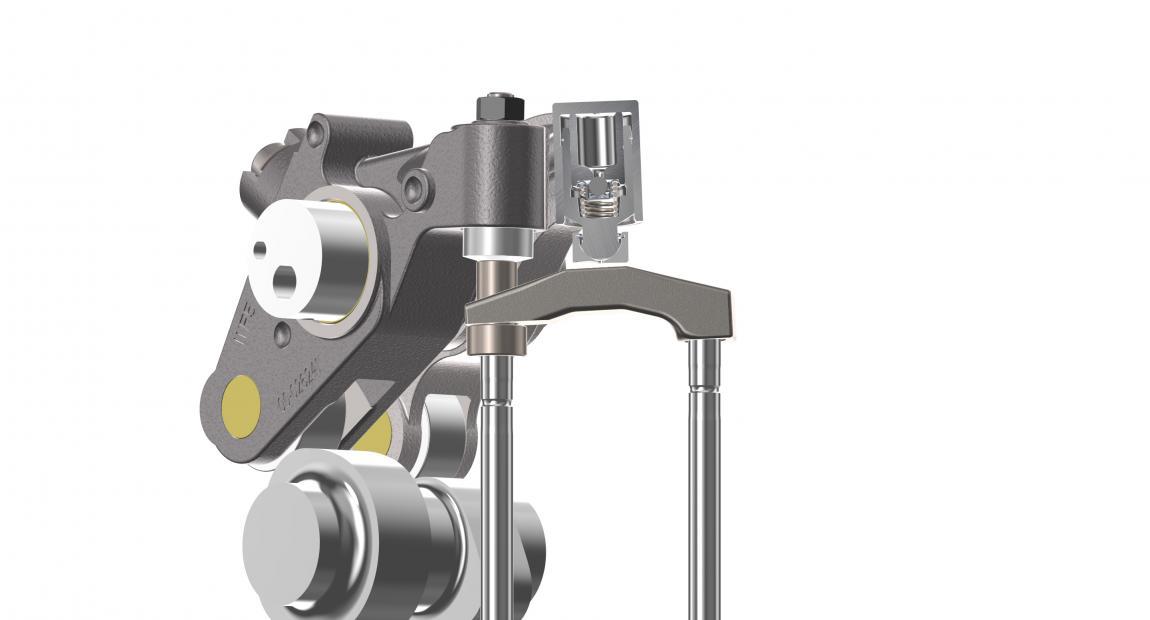 Rendering von Jacobs Fulcrum-Technologie-Hardware